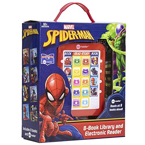 Spider-Man Me Reader Electronic Reader and 8 Sound Book Library (Best Budget Option)