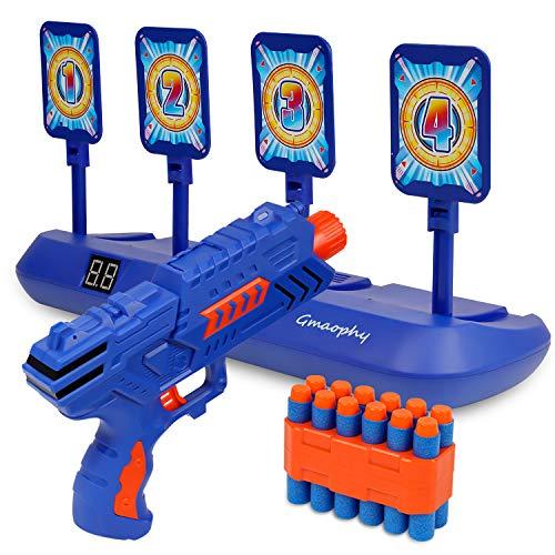Digital Shooting Targets with Foam Dart Toy