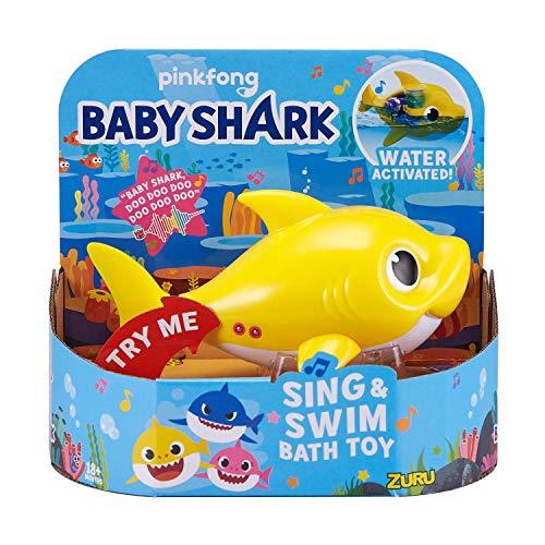Robo Alive Junior Baby Shark Sing & Swim Bath Toy