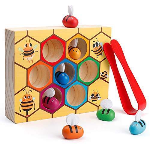 Clamp Bee to Hive Matching Game - Best Budget Option