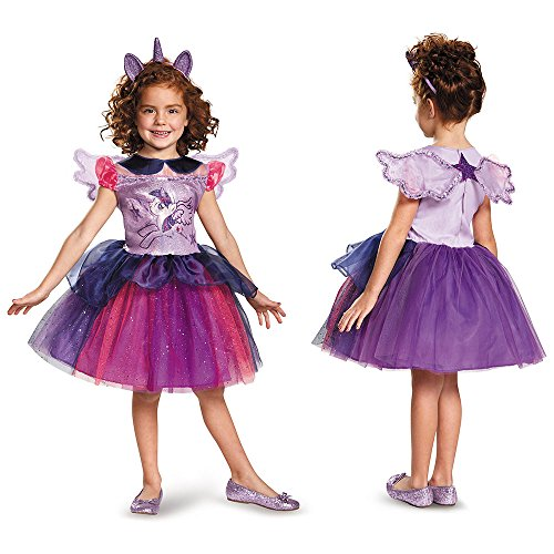 Twilight Sparkle Tutu Deluxe My Little Pony Costume, X-Small/3T-4T (Best Quality Option)