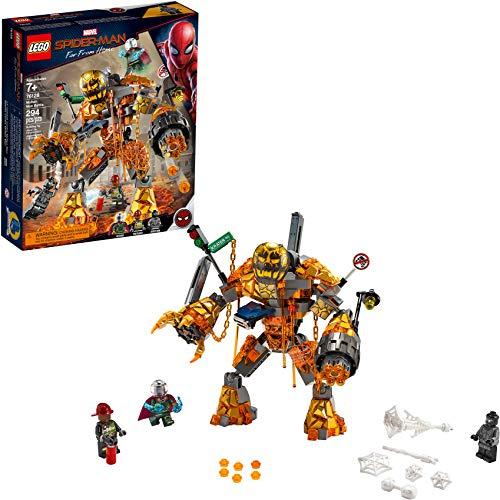LEGO Marvel Spider-Man Far From Home: Molten Man Battle 76128 (Best Budget Age 7-11 Option)