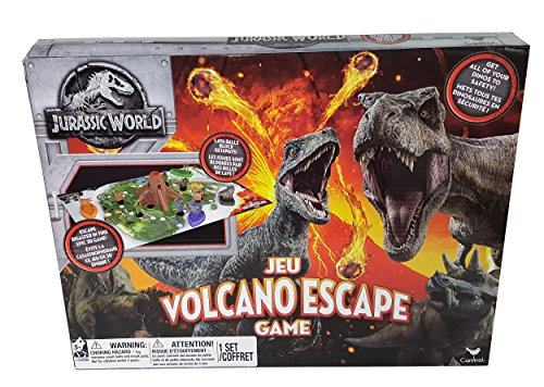 Spin Master Games Cardinal Industries 6044456 Jurassic World Volcano Escape Game