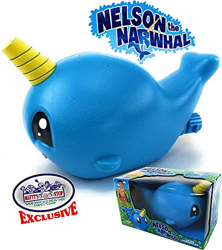 Matty's Toy Stop Nelson The Narwhal Water Sprinkler