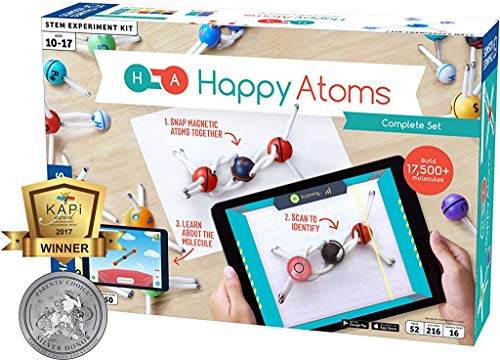 Happy Atoms Magnetic Molecular Modeling Complete Set