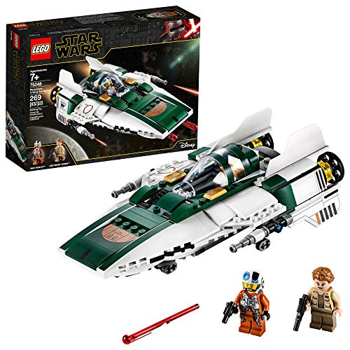 LEGO Star Wars: The Rise of Skywalker Resistance A-Wing Starfighter 75248