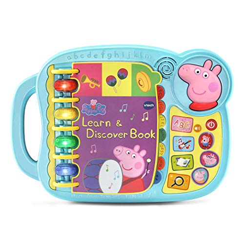 VTech Peppa Pig Learn and Discover Book (Best Quality Option)