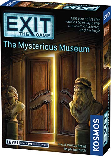 Exit: The Mysterious Museum | Exit: The Game - A Kosmos Game