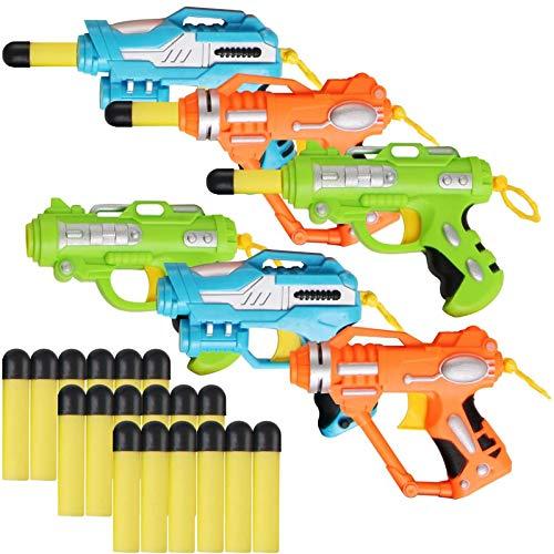 Liberty Imports Mini Foam Dart Blasters (Best Budget Option)
