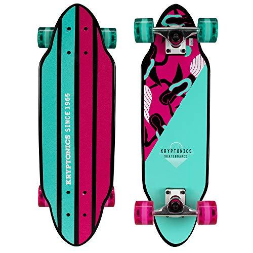 Kryptonics Mini Cutaway Cruiser Skateboard
