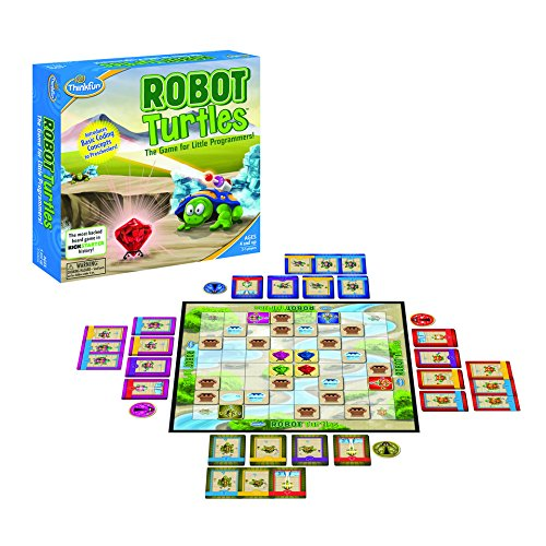 ThinkFun Robot Turtles STEM Toy and Coding Board Game