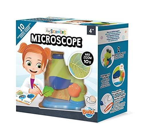 Buki Mini Sciences Children's First Basic Toy Microscope