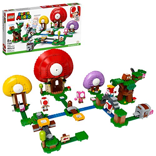 LEGO Super Mario Toad's Treasure Hunt Expansion Set 71368 Building Kit