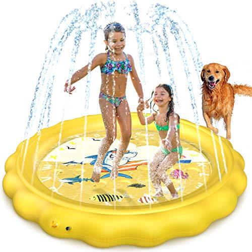 Dillitop Sprinkler Splash Pad
