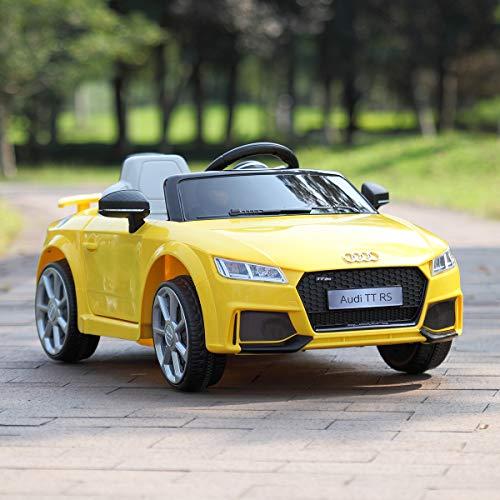 JAXPETY Audi TT 12V Electric Kids Ride-On Car