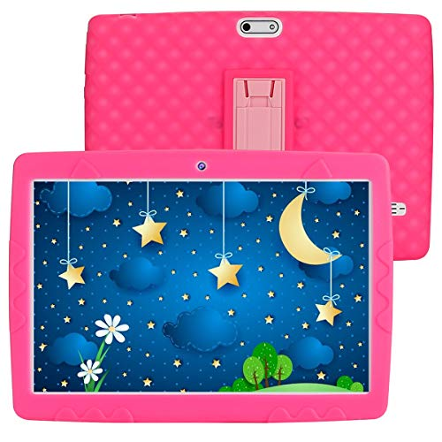 SANNUO 10-inch Kids Tablet, Android 10.0 RAM 3GB ROM 32GB 3G LET Dual SIM Card