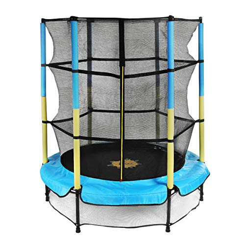 Trampoline for Kids with Enclosure Net