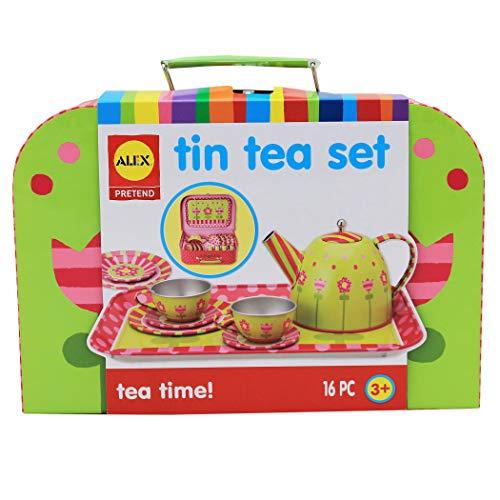 Alex Pretend Tea Time Kids Tea Set