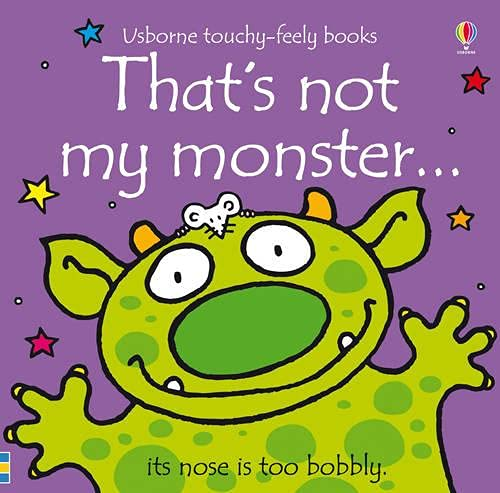 That's Not My Monster... (Usborne Touchy-Feely Books)