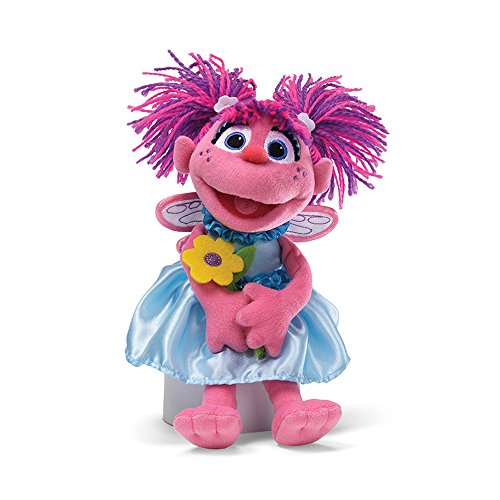 Sesame Street Abby with Flowers Stuffed Animal