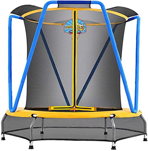 Zupapa Indoor Small Trampoline for Kids