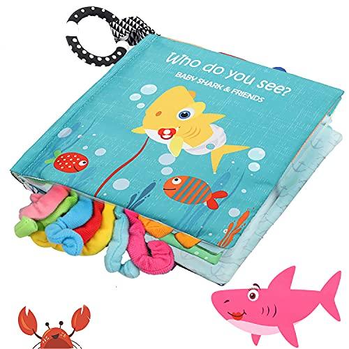 Baby Shark Soft Cloth Book