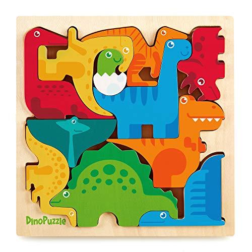 Dinosaur Puzzle 3D Wood Jigsaw