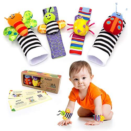 Baby K Foot Finder Socks & Wrist Rattles
