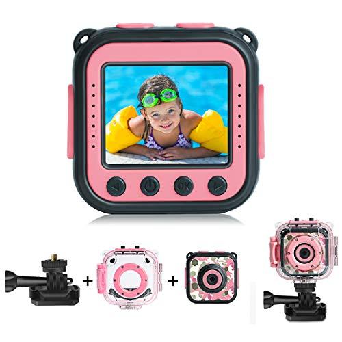 PROGRACE Kids Waterproof Camera Action Video Digital Camera
