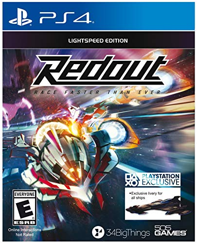 Redout – PlayStation 4 (Best Budget Option)