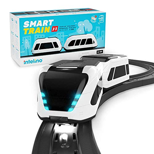 intelino J-1 Smart Train Starter Set (Best Quality Option Ages 7, 8 and 9)