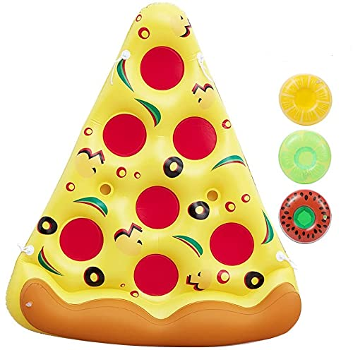 Inflatable Pizza Pool Raft