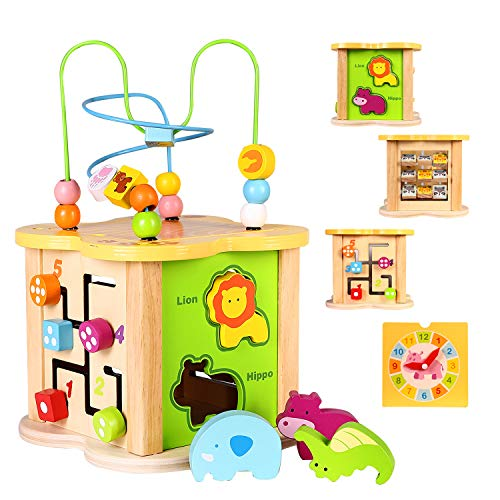 Activity Cube Toys 6-in-1 Play Center - Best Eco-Friendly Option