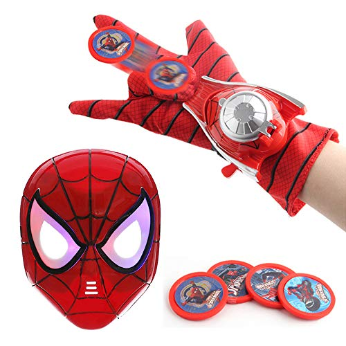 O3 Kids Toy Spider-Man Mask + Glove + Transmitter, Spider-Man LED