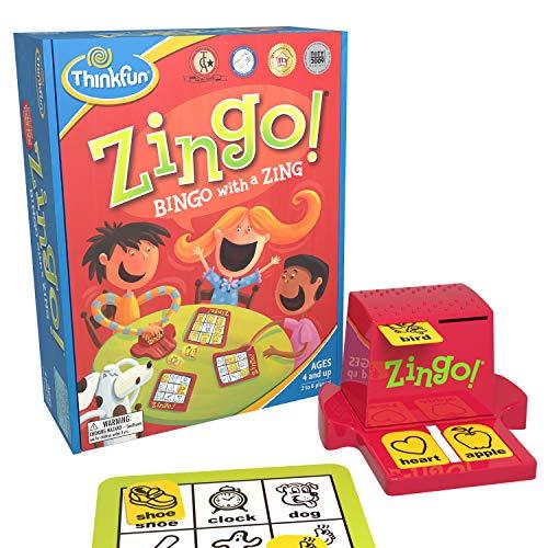 ThinkFun Zingo (Best Age 4 Option)