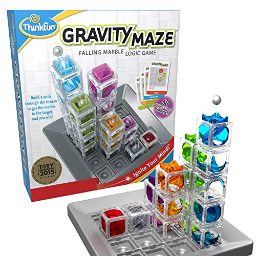 ThinkFun Gravity Maze Marble Run (Best Quality Option)