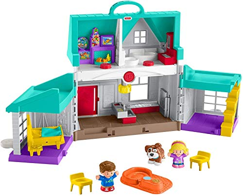 Fisher-Price Little People Big Helpers Home (Best Budget Option)