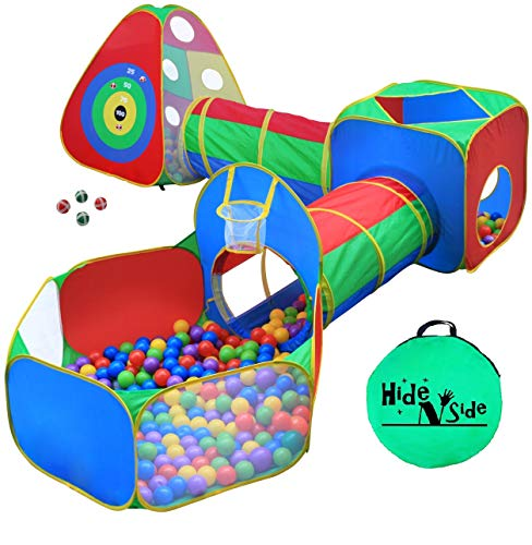 5pc Kids Ball Pit Tents and Tunnels