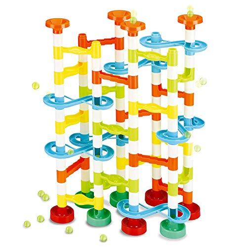 JOYIN 154pcs Marble Run Premium Toy Set