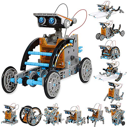 Sillbird STEM 12-in-1 Education Solar Robot