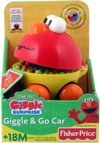 Giggle Take Along Elmo Car