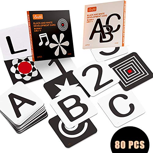 TUMAMA Black and White Flashcards