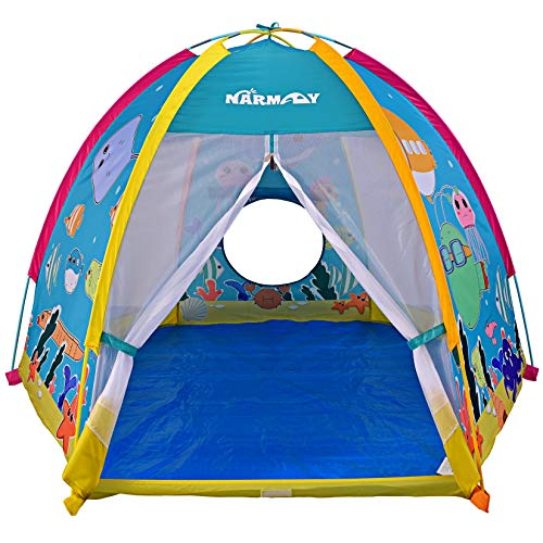 NARMAY Play Tent Ocean World Dome Tent for Kids (Best Quality Option)
