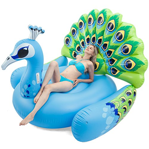 JOYIN Inflatable Peacock Pool Raft
