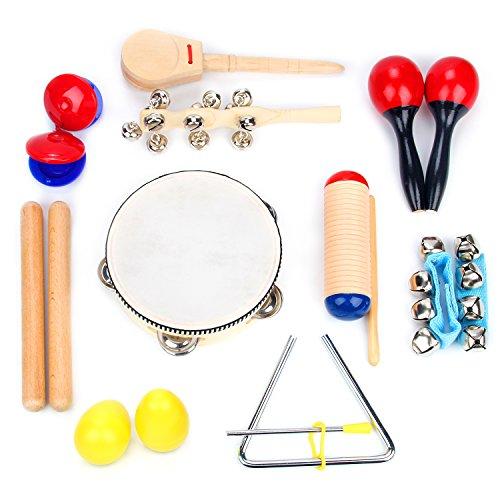 Boxiki kids Musical Instrument Set 16 PCS