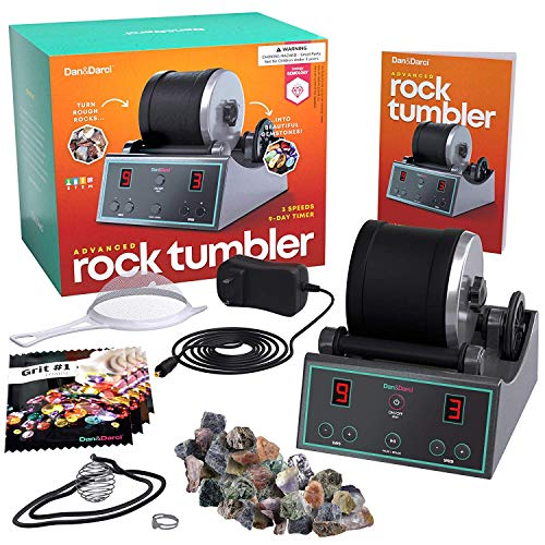 Advanced Professional Rock Tumbler Kit (Best Quality Option)