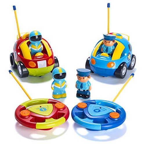 Prextex R/C Police Car and Race Car