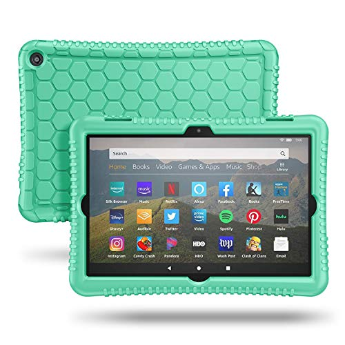 Fintie Silicone Case for All-New Kindle Fire HD 8 Tablet and Fire HD 8 Plus Tablet