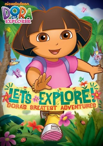 Dora the Explorer: Let's Explore! Dora's Greatest Adventures (Best Budget Option)