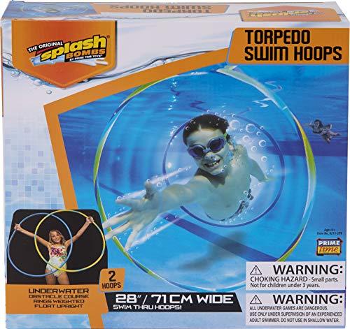Prime Time Toys Diving Masters Torpedo Swim Hoops Set